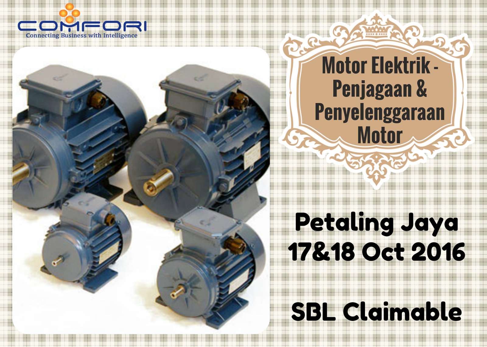 Motor Elektrik - Penjagaan & Penyelenggaraan Motor - Comfori