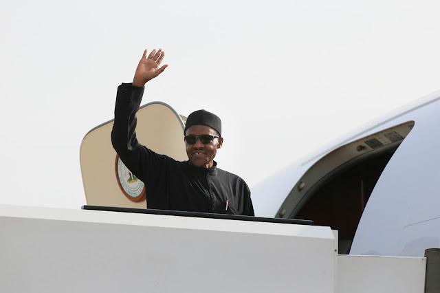 Buhari leaves Nigeria, Buhari travels