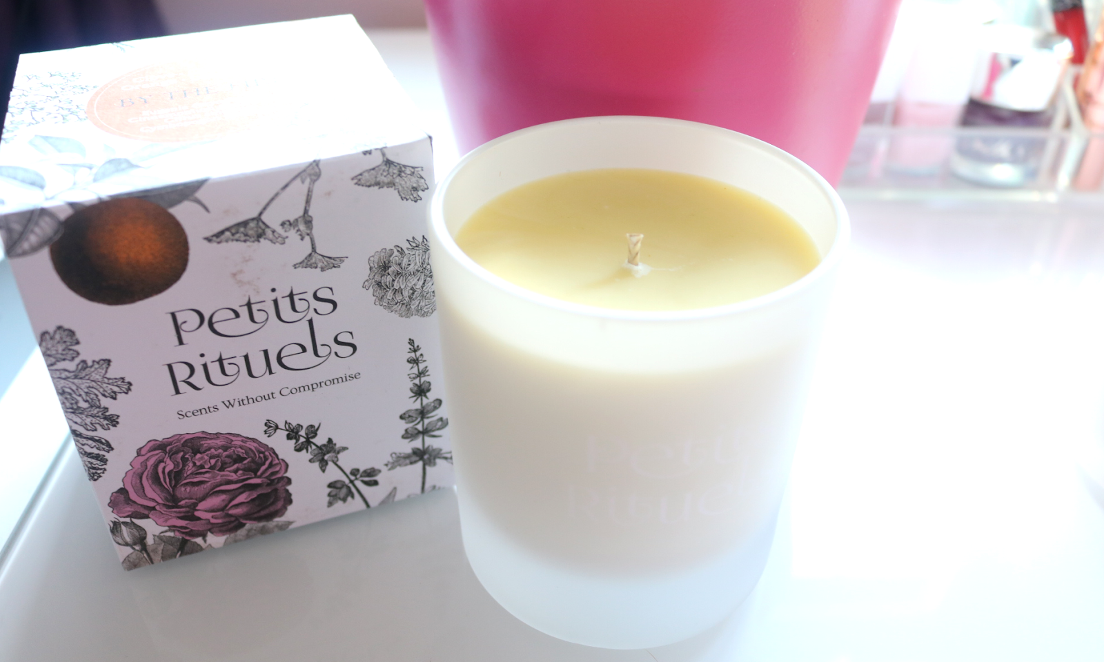 Petits Rituels By The Fire & Orange Gourmande Luxury Candles review