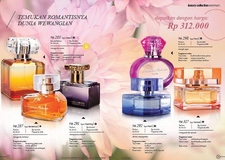Parfum Original By Federico Mahora Katalog 2016