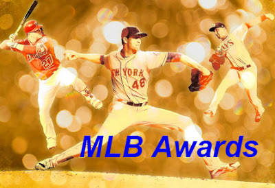 MLB Awards 2018: MVP, Cy Young, MOY, ROY.
