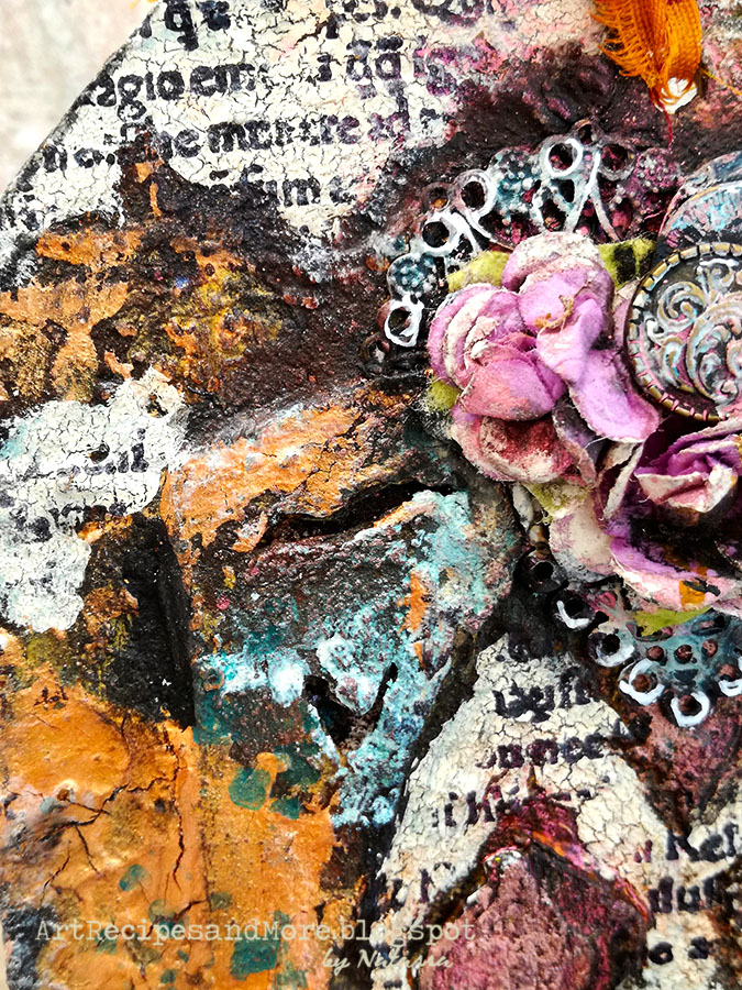 scraps n pieces the blog mixed media twin tags