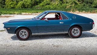 1968 AMC AMX Sports Coupe Side