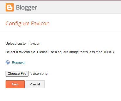 Mengubah Favicon Blogger Versi Baru