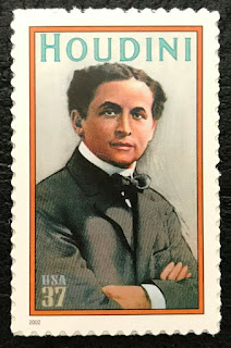 2002  37¢ - Harry Houdini - Magician