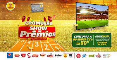 Promoção GBarbosa Show de Prêmios