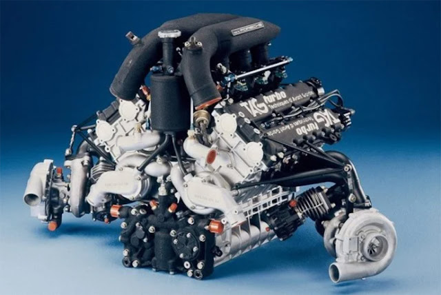 Porsche-TAG TTE P01 engine