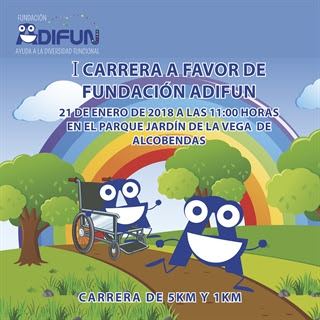 Carrera fundación ADIFUN en Alcobendas - Madrid.