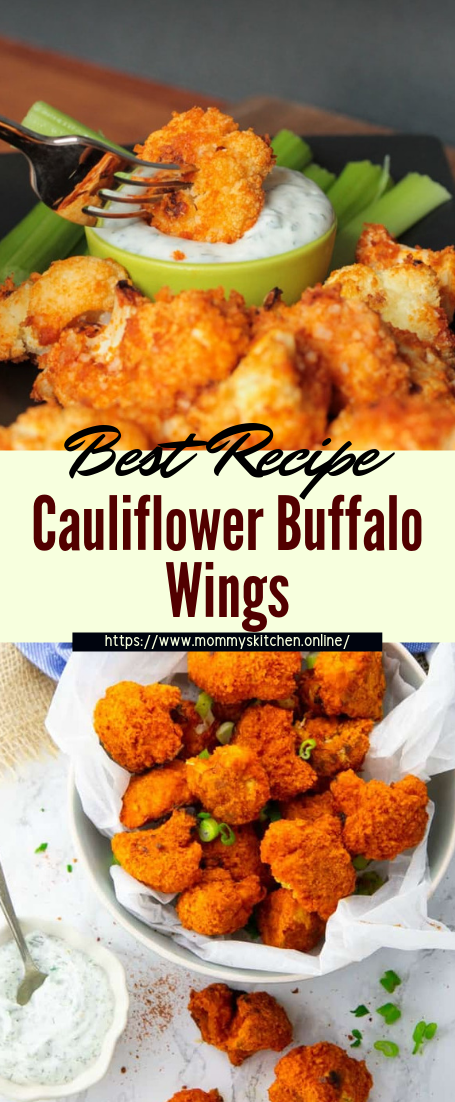 Cauliflower Buffalo Wings #healthyfood #dietketo #breakfast #food