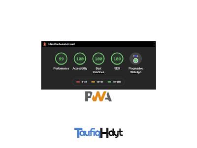 tutorial cara membuat website statis menjadi pwa