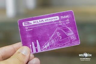 Easy reisen nach Kuala Lumpur mit KLIA ekspres! WELTREISE