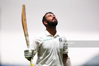 भारतीय  बल्लेबाज चेतेश्वर पुजारा
