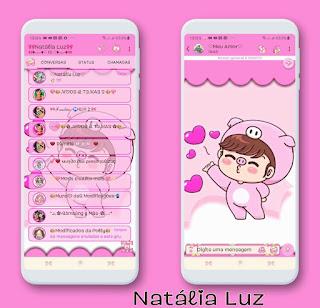Baby Boy Theme For YOWhatsApp & Fouad WhatsApp By Natalia Luz