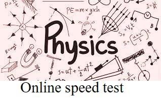 general science  online speed test