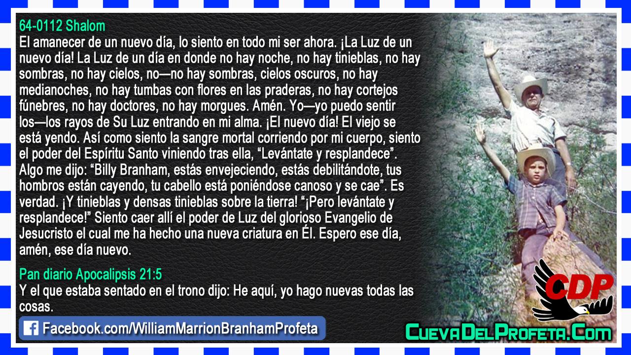 El amanecer de un nuevo día - William Branham en Español