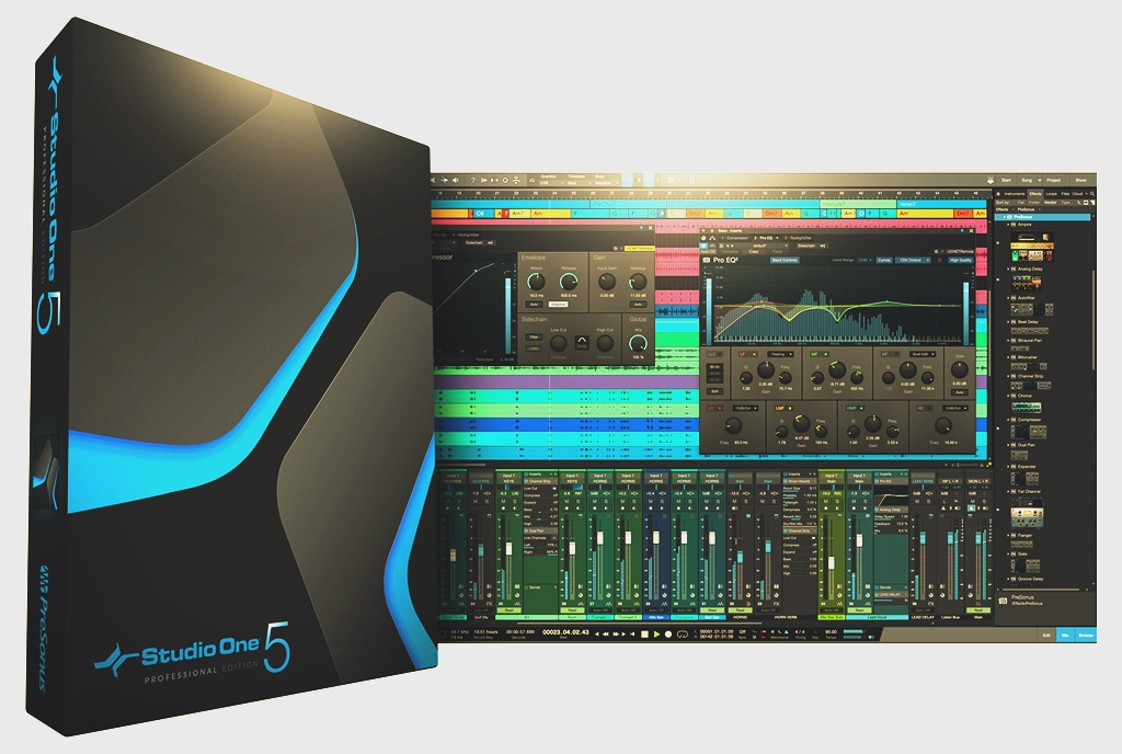 Studio One 5.0.1 by PreSonus Torrent Dowload