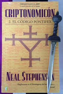 Portada del libro Criptonomicón 2: el código Pontifex, de Neal Stephenson