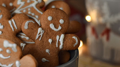 Christmas, New Year, Holidays, Gingerbread