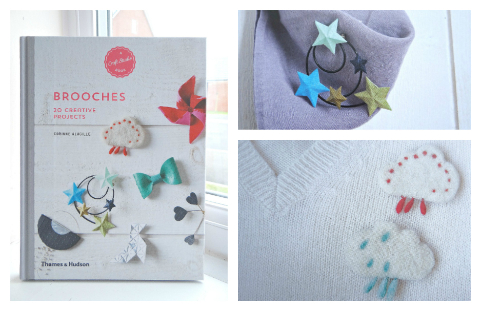 Craft Studio Books, make your own, Brooches