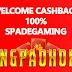 Welcome CashBack 100% SpadeGaming Dari Situs Judi Slot Terpercaya Angpaohoki