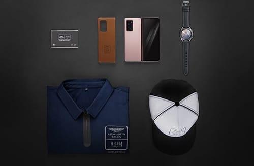 Aston Martin has a Samsung foldable phone
