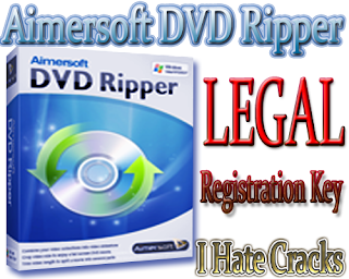 Aimersoft DVD Ripper 2.7.4 Version With Free And Legal Registration Code