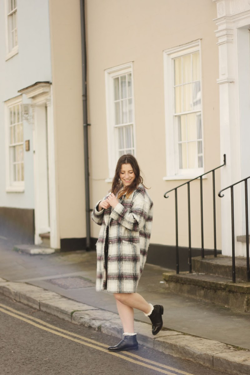 Primark check coat | www.itscohen.co.uk
