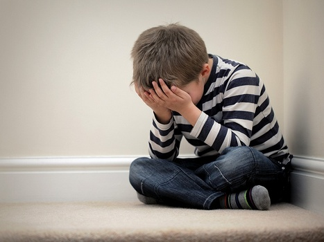 Ilustrasi Anak Depresi