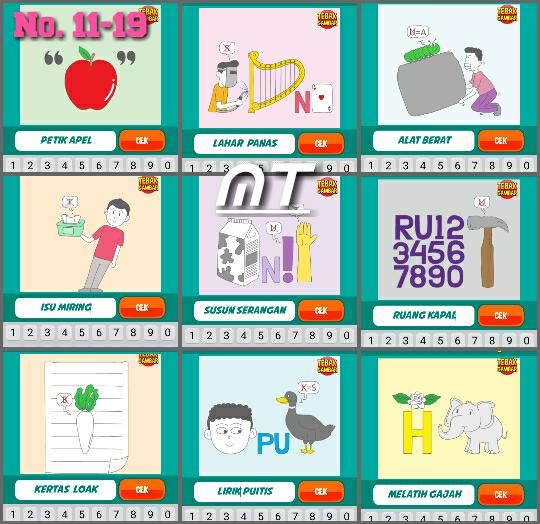 Kunci Jawaban Tebak Gambar Level 18 Nomor 1 Sampai 20 Cerita Berbagi