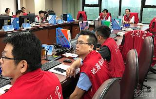 經濟部今(11)日下午災害緊急應變小組一級開設