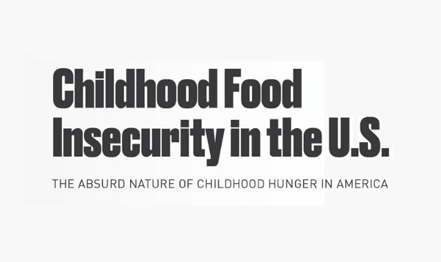 Childhood Food Insecurity in the United States