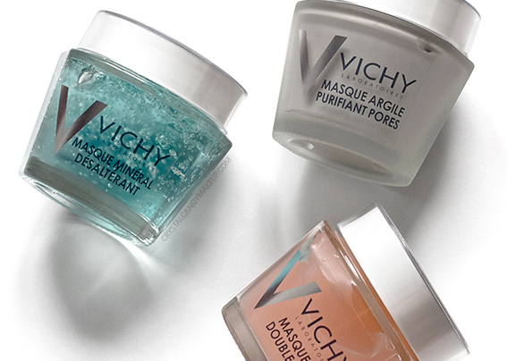 Vichy Mineral Face Masks Review Photos Quenching Double Glow Peel Pore Purifying Clay