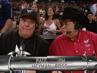 WWE / WWF Backlash 2001 - Paul Heyman and Jim Ross called the event