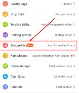 Cara Top Up mengisi Shopeepay di Indomaret