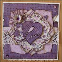 Marianne Design voorbeeldkaart liefde