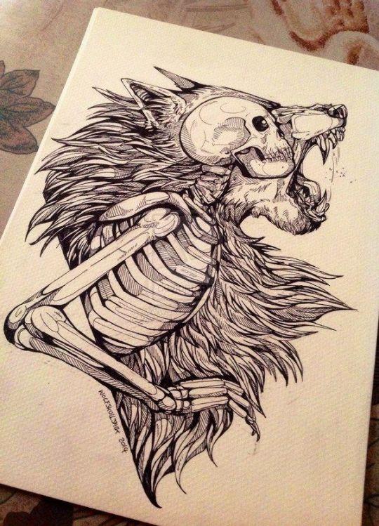 16 Creative Skull Tattoo Designs