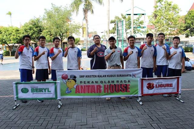 SMP Kristen Kalam Kudus Surakarta Adakan Pekan Olahraga dan Baksos