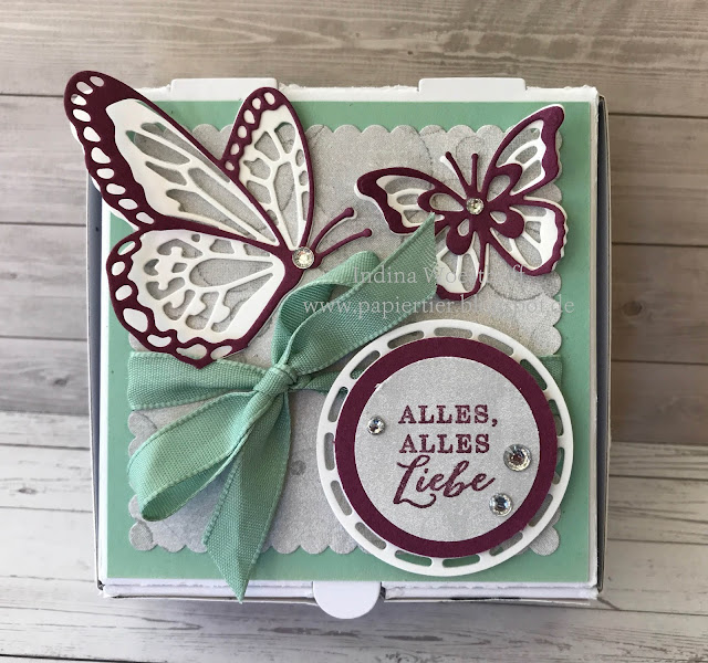 papiertier Indina | Blog Hop Farbchallenge | Voller Schönheit | Schmetterlinge