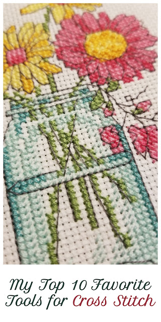 Top Favorite Tools for Cross Stitch