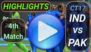 IND vs PAK 4th Match