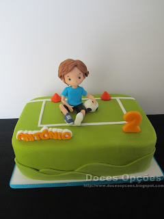 Bolo de aniversário futebol