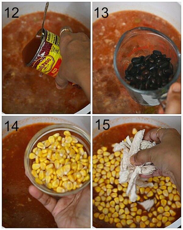 how to make enchilada soup