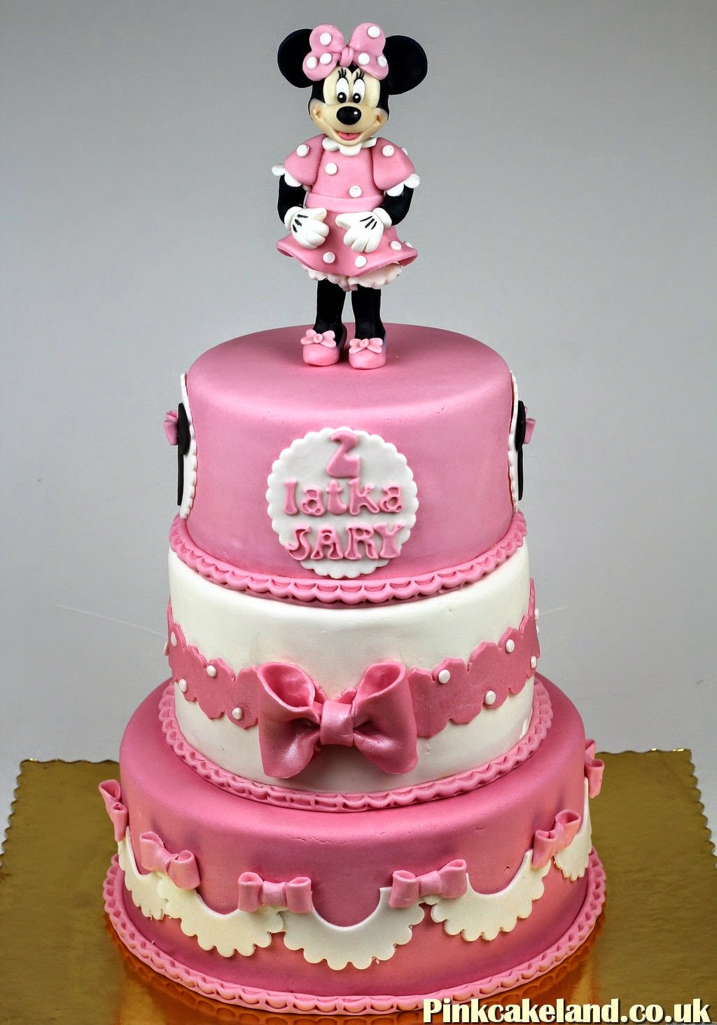 Minnie Mouse Cake, Woking