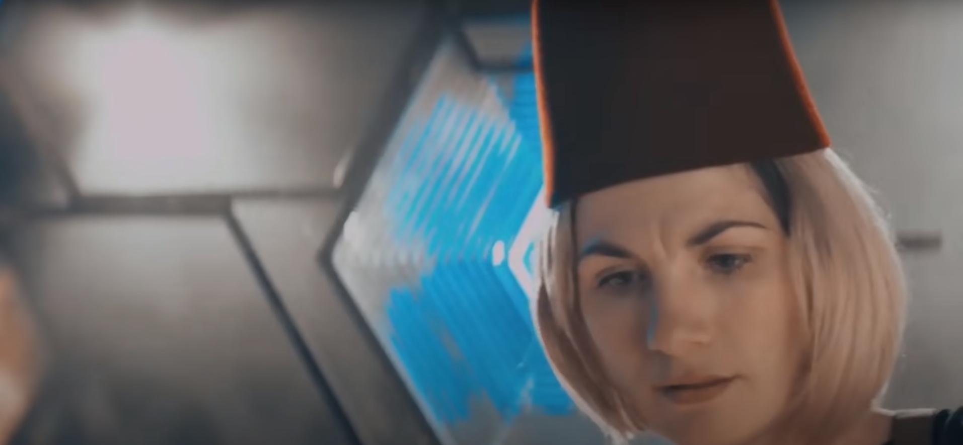 Джоди Уиттакер Доктор Кто кадр из фильма