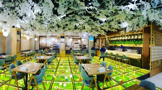 Okinawa Sushi Restoran Unik dan Menarik di Jakarta Selatan