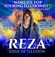 Illusionist REZA in Miami, FL.