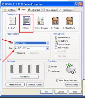Pengaturan Pencetak pada Photosacpe Bagian 3