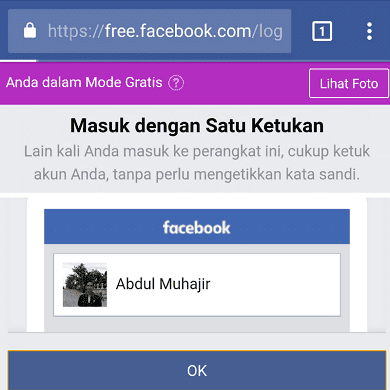 cara internetan gratis buka facebook