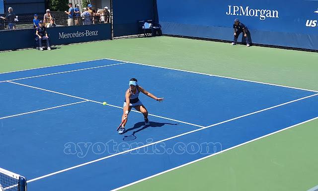 US Open: Tumbangkan Unggulan Ketiga, Priska Lolos ke Perempat Final