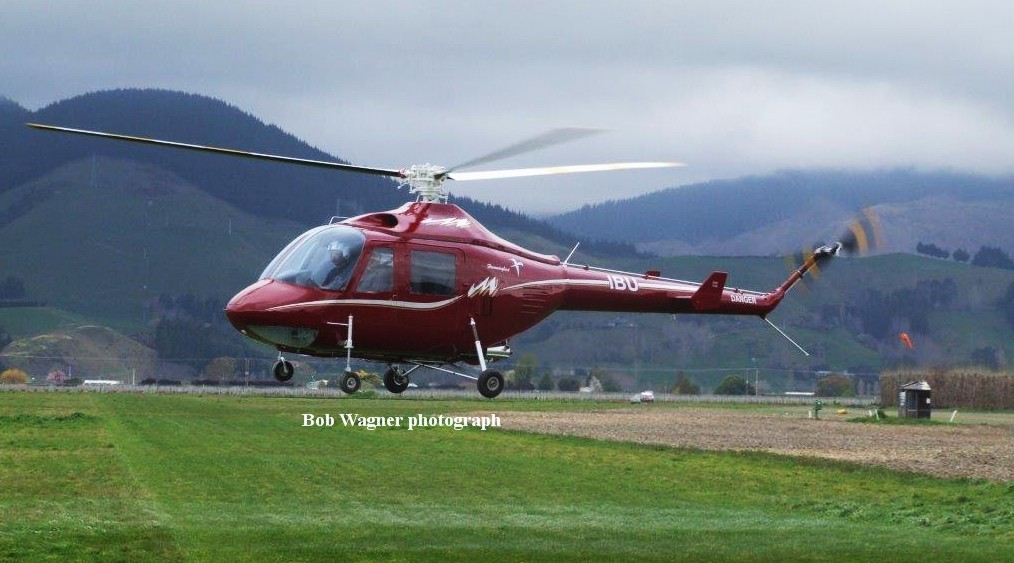 NZ Civil Aircraft: Vertol Hummingbird 260L ZK-IBU